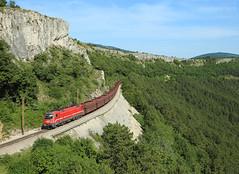 541 xxx, Črnotiče, 14 June 2019 (Mr Joseph Bloggs) Tags: slovenia sz railway railroad bahn zug train treno freight cargo koper crnotice črnotiče 541 siemens taurus 1216 vlak