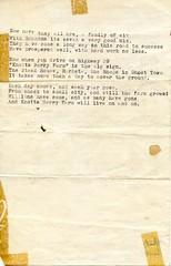 Knott's employee parties (jericl cat) Tags: knotts berryfarm walter knott birthday paty skit waitress family lyric lyrics tune poem sign auction scrapbook paper message personal ephemera