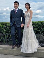 Chinese groom wearing a Hermes belt (pivapao's citylife flavors) Tags: paris france trocadero girl wedding beauties