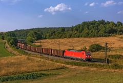 DB 185 238 (maurizio messa) Tags: traxx bombardier br185 mau bahn bayern cargo ferrovia freighttrain fret germania germany guterzuge treni trains railway railroad nikond7100