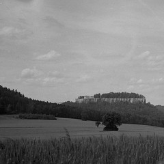 Sächsische Schweiz_Kiev6C_07 (ambient norge) Tags: analog mittelformat mediumformat kiev kiev6c hp5 sächsische schweiz