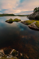 Froya, Norway (Arnas Lucinskas) Tags: lake water reflection hills mountains rocks stones nature landscape evening colors colrfulsky tranquil peaceful