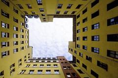 Charlottenstrasse (Douguerreotype) Tags: berlin yellow city deutschland buildings urban architecture germany