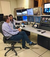 NASA VMS Control Room for Lunar Module Sim (jurvetson) Tags: nasa ames vms vertical motion simulator apollo lm lunar module altair