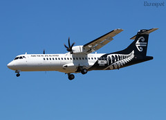 F-WWET ATR72 Air New Zealand (@Eurospot) Tags: zkmvz atr atr72 1562 toulouse blagnac airnewzealand