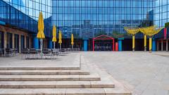 Stadtsparkasse München - Verwaltungszentrum (jameshjschwarz) Tags: bayern deutschland germany leicadg818f2840 lumixg9 m43 mft münchen oberbayern