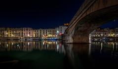 Bosa I Sardinia (mcalma68) Tags: bosa sardinia cityscape night reflections canal architecture traveldestination