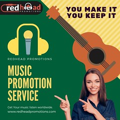 Best Online Music Promotion Services (redheadpromotions) Tags: best online music promotion services submit your sell buy tracks company independent video marketing listen free
