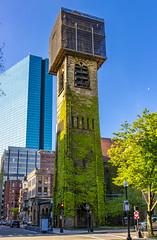 Boston First Baptist Church Tower (Eridony (Instagram: eridony_prime)) Tags: boston suffolkcounty massachusetts backbay church placeofworship historic nrhp constructed1872 nationalregisterofhistoricplaces