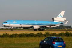 PH-KCA (PlanePixNase) Tags: amsterdam ams eham schiphol planespotting airport aircraft klm md11 mcdonnell douglas