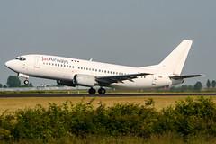 JU-ANW (PlanePixNase) Tags: amsterdam ams eham schiphol planespotting airport aircraft jat boeing 733 737300 737 b733