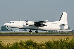 PH-FZH (PlanePixNase) Tags: amsterdam ams eham schiphol planespotting airport aircraft denimair fokker 50 f50