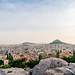 Panorama of Athens from the top of Acropolis