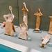 Ancient Greek figurines on display in Acropolis museum
