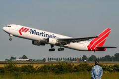 PH-MCH (PlanePixNase) Tags: amsterdam ams eham schiphol planespotting airport aircraft martinair boeing 767 767300 b763