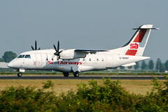 G-BWWT (PlanePixNase) Tags: amsterdam ams eham schiphol planespotting airport aircraft scot airways dornier do328