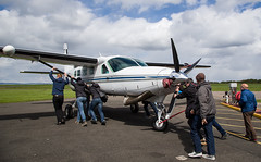 N208PC Cessna 208, Scone (wwshack) Tags: caravan ce208 cessna cessna208 egpt psl perth perthkinross perthairport perthshire scone sconeairport scotland n208pc