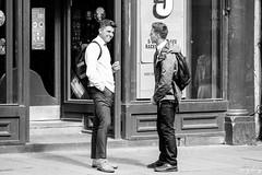 I Feel Cocky 😜 (Cycling-Road-Hog) Tags: blackwhite candid canoneos750d citylife colour efs55250mmf456isstm edinburgh edinburghstreetphotography monochrome people places scotland street streetphotography streetportrait urban