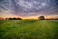 Clouds of Summer (kendoman26) Tags: htt happytelegraphtuesday sky daybreak morrisillinois clouds sonyalpha sonya7mk2 sonya7ii samyang14mm28 hdr nikhdrefexpro2