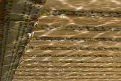 Regularity (Tony Tooth) Tags: bridge abstract reflection lines nikon rivets cheshire sigma disused ripples dappled bosley 70mm macclesfieldcanal d7100