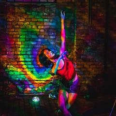 Bodyart light projection (light painting projector) Tags: red lightart loveslongexpo supremenightshots visualart ledlights ledlamp psychedelic moodlight moodlighting