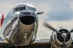 Thumbs up, again a great Flying Legends Airshow at Duxford (WP_RAW) Tags: jachtvliegtuigen engeland duxford luchtoorlog spifires hurricanes messerschmit bf109 lancaster museum war imperial canoneosr iwmduxford wwii