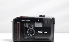 Fuji DL-10 (camera_holic) Tags: fuji dl10 dl 10 drop in load 35mm compact black film analog analogue camera loading