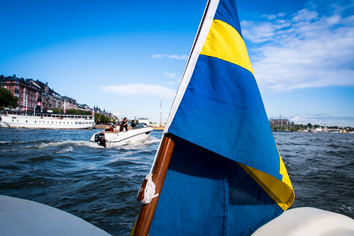 Stockholm by boat (explore 2019-07-16)
