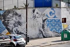 Lisboa - street art (jaime.silva) Tags: streetart streetartist street portugal portugalia portugalsko portugália portugalija portugali portugale portugalsk portogallo portugalska portúgal portugāle lisboa lisbon lisbonne lissabon lisszabon lisbona lisabona lisabon lissabonin lissaboni lisabonos lisabonas lizbona lizbon lizbonska muralpainting mural pinturamural spraypaint spray spraypainting graffiti graf publicart artepublica urban urbanart arteurbana addfuel eime danieleime
