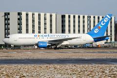 G-BOPD (PlanePixNase) Tags: aircraft airport planespotting haj eddv hannover langenhagen boeing 767200 767 b762 xlcom excel