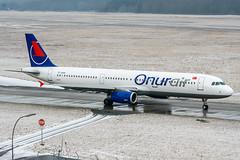 TC-OAN (PlanePixNase) Tags: aircraft airport planespotting haj eddv hannover langenhagen onurair airbus 321 a321