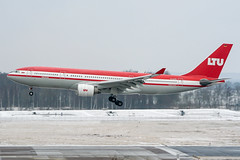 D-ALPD (PlanePixNase) Tags: aircraft airport planespotting haj eddv hannover langenhagen ltu airbus 330 330200 a332