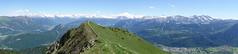 Panorama @ Hike to Le Môle (*_*) Tags: hiking mountain montagne nature randonnee summit sommet trail sentier walk marche europe france hautesavoie 74 chablais cluses savoie 2019 spring printemps afternoon june lemole