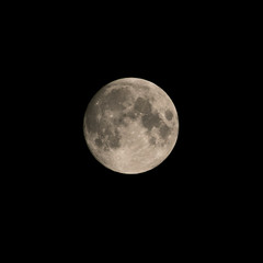 Luna 15/07/19 (fcojavier1991) Tags: luna moon night nightphoto nocturna nikon nikond3300 tamron70300 sky skyline dark darkness