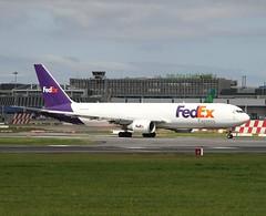 FedEx                               Boeing 767                                   N109FE (Flame1958) Tags: fedex fedexb767 boeing767 boeing b767 767 b767f 767f boeing767f boeingfreighter airfreight aircargo dub eidw dublinairport 130719 0719 2019 4843 n109fe