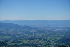 Towards Geneva @ Hike to Le Môle (*_*) Tags: hiking mountain montagne nature randonnee summit sommet trail sentier walk marche europe france hautesavoie 74 chablais cluses savoie 2019 spring printemps afternoon june lemole lakegeneva lacleman