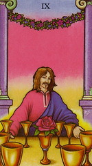 9 of Cups - Connolly Tarot Welcome to day 46 of show your fave  Today I used 9 of Cups from The Connolly Tarot #ConnollyTarot #cups #9ofCups #tarot #TarotofTheDay #cardoftheday #tarot #tarotcards #dailytarot #tarotdaily (makeuptemple) Tags: connolly tarot cups 9 the day card cards daily