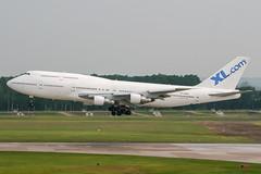 TF-AMK (PlanePixNase) Tags: aircraft airport planespotting haj eddv hannover langenhagen xlcom excel boeing 747 b743 747300 jumbo airatlantaicelandic