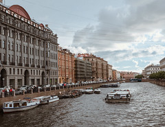 P7084739 (Valentin_Efimov) Tags: urban river riverside riverbank street sjy cloud landscape boat city water