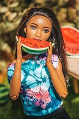Watermelon mood (kinmegami) Tags: polymerclay miniature barbiemadetomove 16 handmade