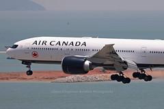 "Boeing, 777-233(LR), C-FNNH, ""Air Canada"", VHHH, Hong Kong (Daryl Chapman Photography) Tags: cfnnh ac aircanada boeing 777 77l 777233lr 699 35247 aca vhhh clk hkia cheklapkok hongkonginternationalairport landing arrival plane planes planespotting planephotography aviation aviationphotography canon 5d mkiv 100400lii"