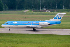 PH-KZI (PlanePixNase) Tags: aircraft airport planespotting haj eddv hannover langenhagen klm cityhopper f70 70 fokker