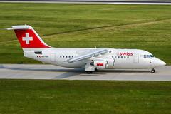 HB-IXH (PlanePixNase) Tags: aircraft airport planespotting haj eddv hannover langenhagen swiss british aerospace avro rj85
