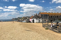 West Bay (Jainbow) Tags: westbay dorset resort beach cliffs sea jainbow