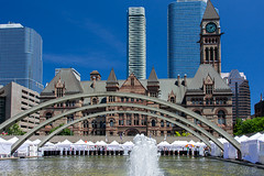 Old City Hall Toronto (jeffb477) Tags: toronto ontario canada canadian summer cityhall nikon d7100 travel fountain