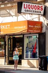 One Day One Street (Thomas Hawk) Tags: america bayarea belcliftmarket california liquorstore sf sfbayarea sanfrancisco usa unitedstates unitedstatesofamerica westcoast