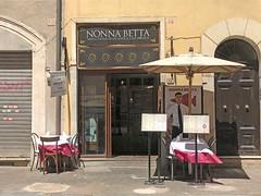 Roma-2019_1074 (Manohar_Auroville) Tags: rome roma italia holidays vacanze amici food cibo trastevere luigi fedele manohar