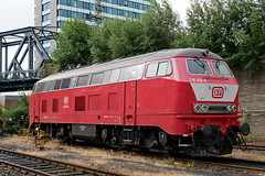P1870806 (Lumixfan68) Tags: eisenbahn loks dieselloks baureihe 218 railsystems rp mietloks grosdiesel