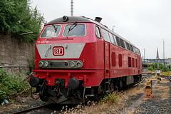 P1870801 (Lumixfan68) Tags: eisenbahn loks dieselloks baureihe 218 railsystems rp mietloks grosdiesel