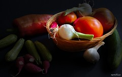 Summer vegs 2 (remitico) Tags: stilllife ortaggi vegetables vegs nikon d7500 naturamorta colours colour colori